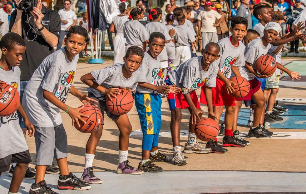 NBA en Cuba.