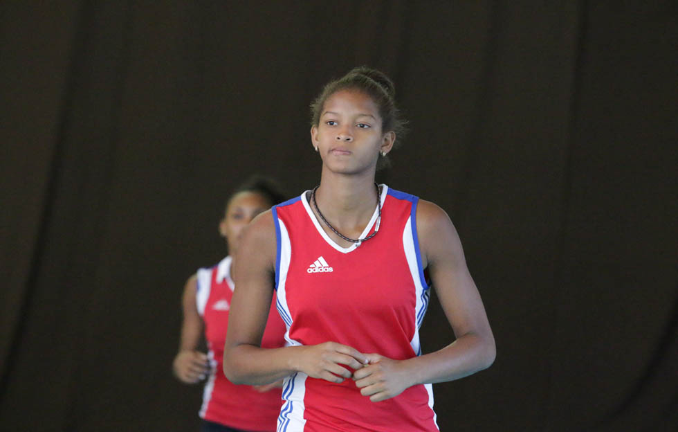 Voleibolista cubana Melissa Vargas