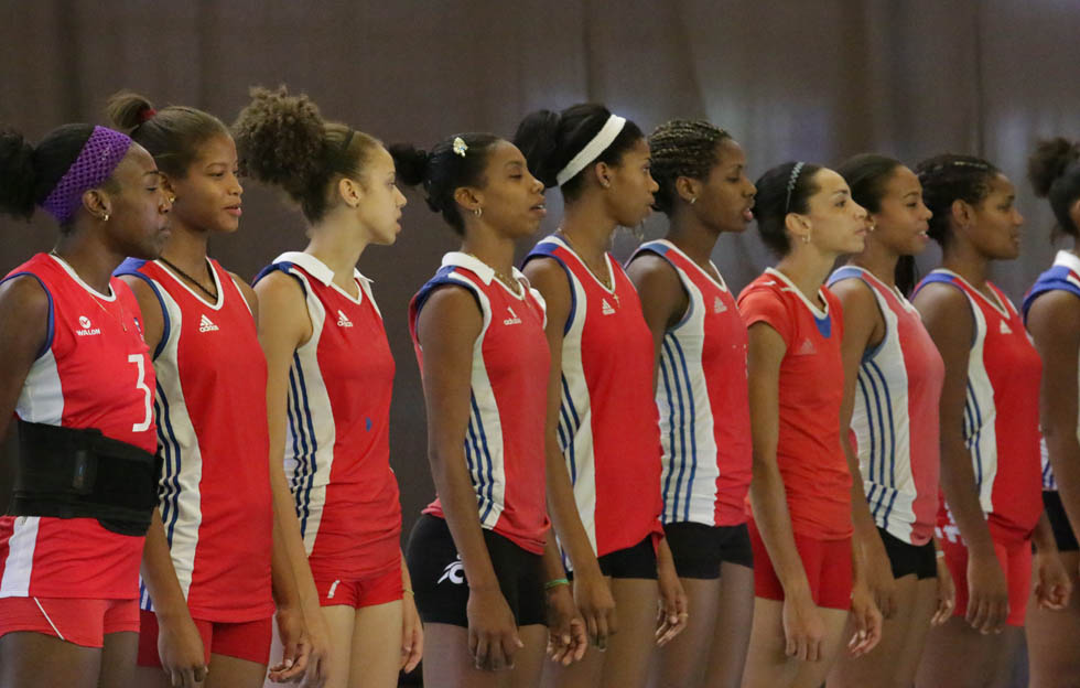 Equipo femenino nacional de voleibol