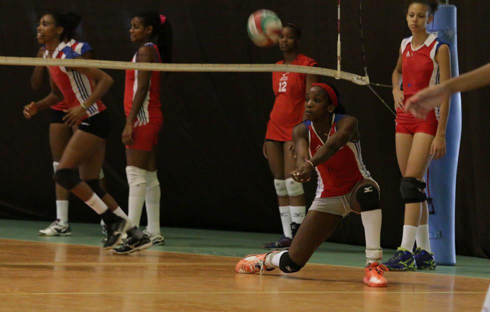 Voleibol femenino cubano