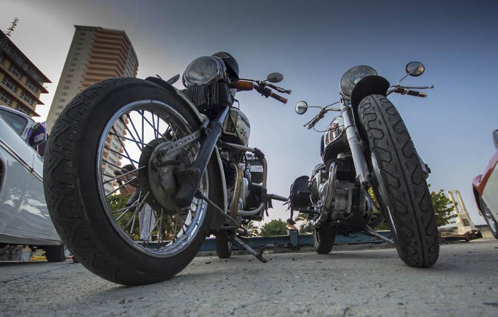 Vivir como un motociclista clásico