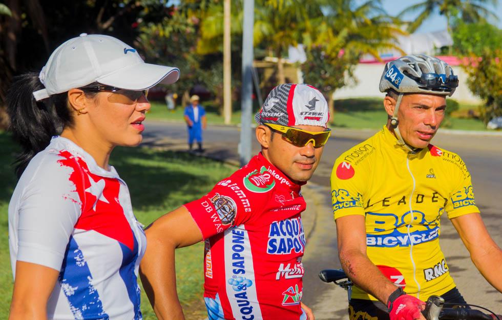 Arnold Alcolea y Yudelmis Domínguez