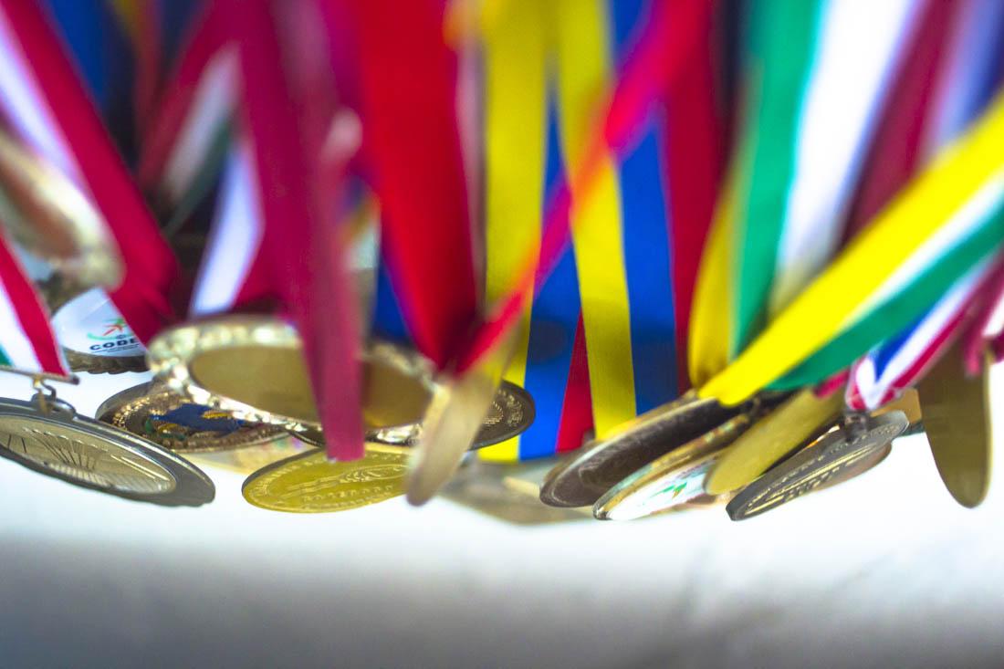 Es el primer cubano en estar entre los 100 mejores badmintonistas del ranking mundial Foto: Alain López Martínez