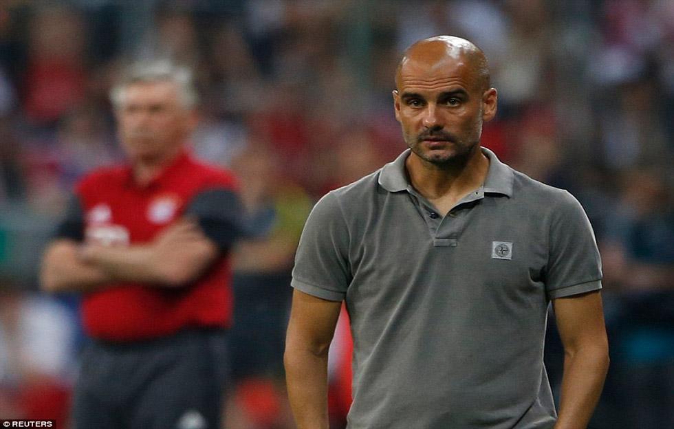 A Pep Guardiola las cosas no le van bien en la Premier