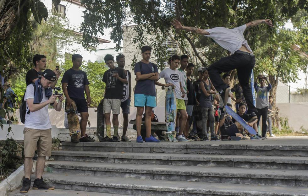 Skate en Cuba busca institucionalidad