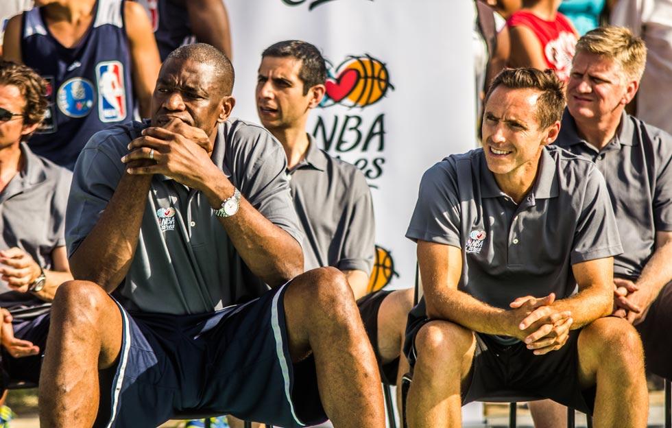 Visita de la NBA