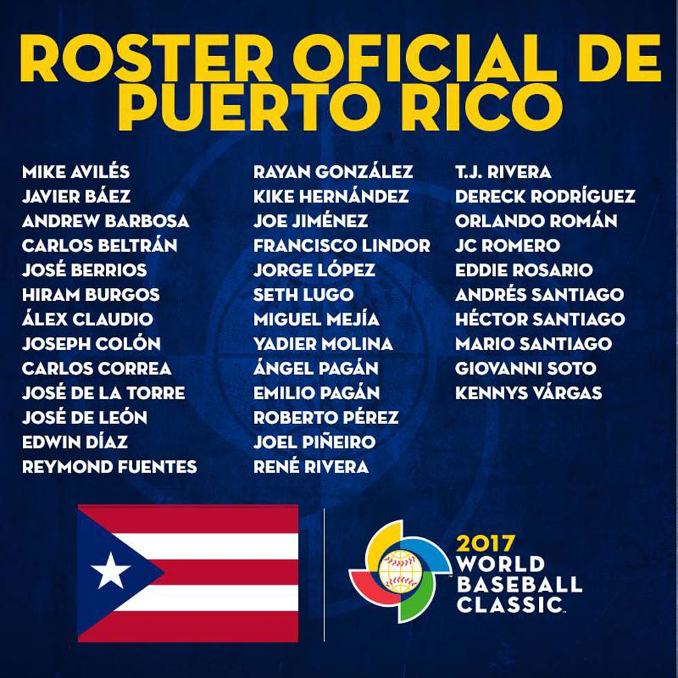 Roster Puerto Rico
