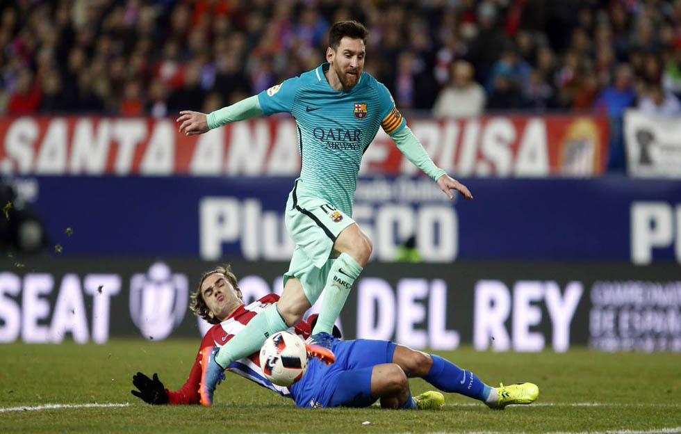 Lionel Messi con el FC Barcelnoa