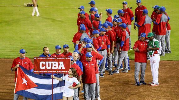 Cuba sube un puesto en ranking mundial de béisbol
