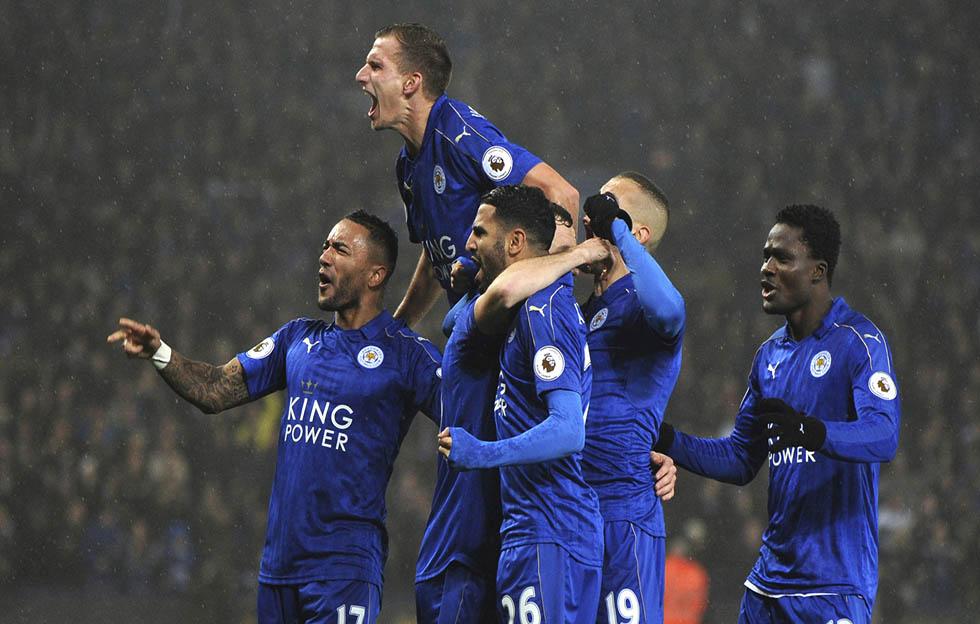El Leicester City hace historia y escapa de la 'paternidad' española en la Champions