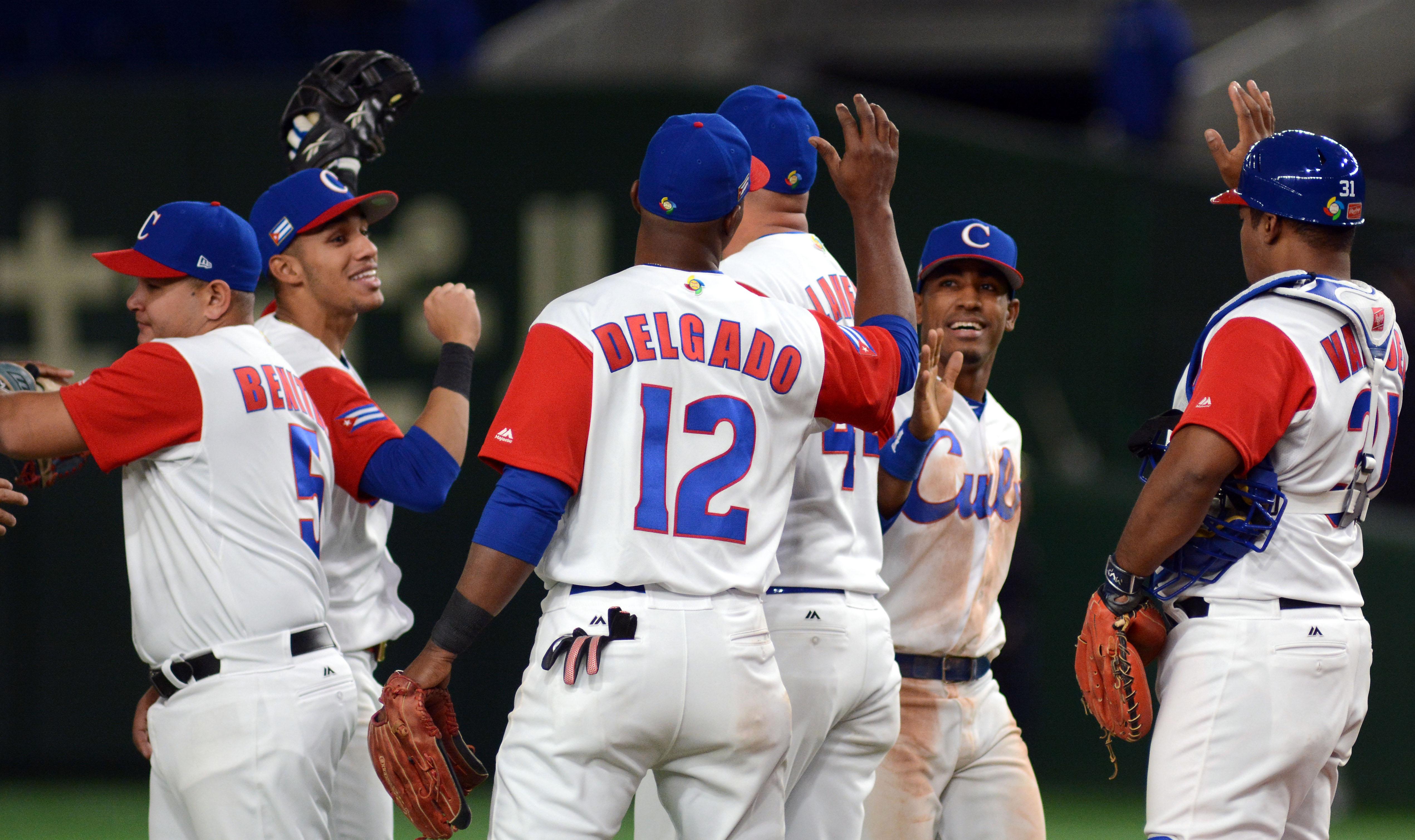 Seis peloteros cubanos a la Liga Can Am
