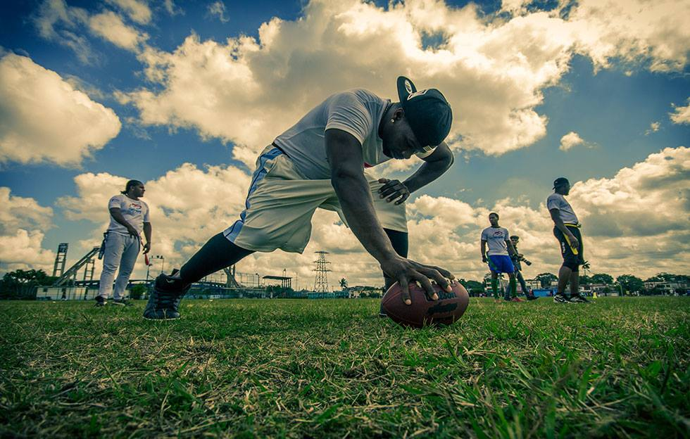 Los Taínos por legitimar el flag football en Cuba