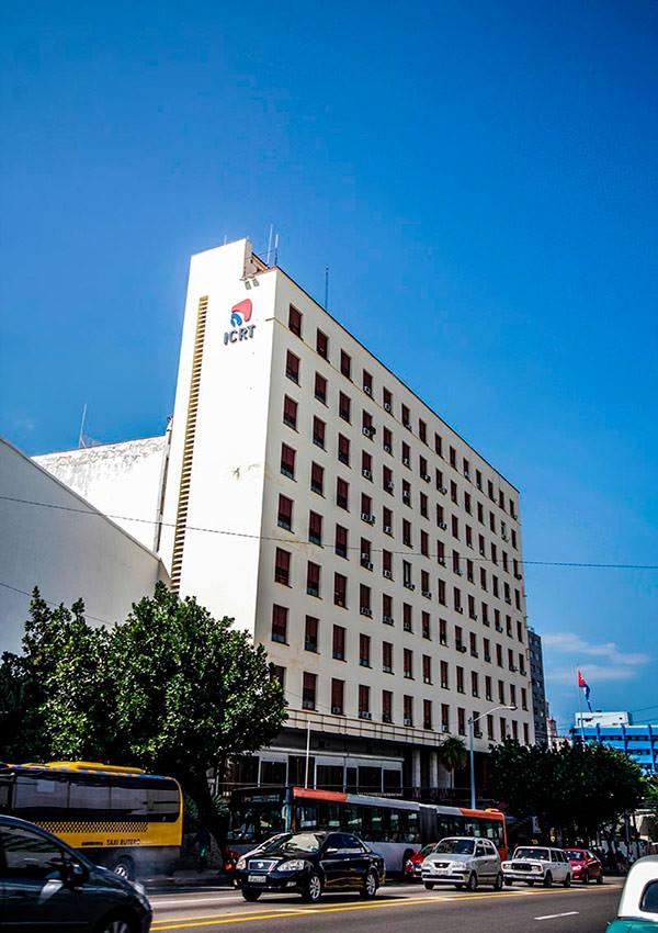 Edificio del Instituto Cubano de Radio y Televisión