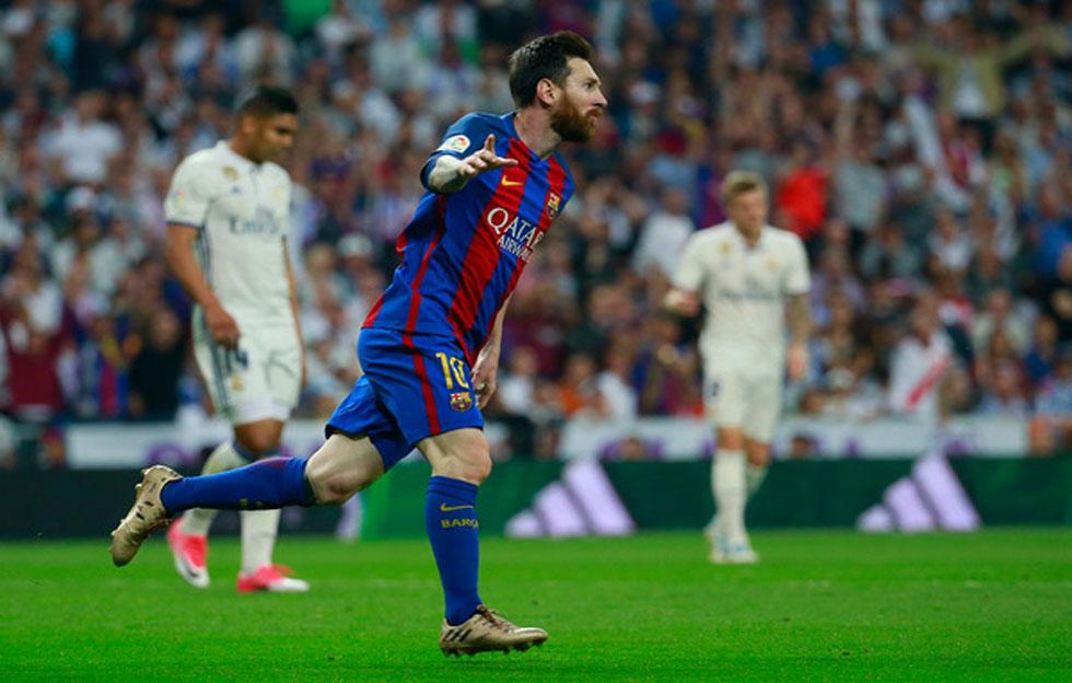 Lionel Messi marca su gol 500 y sentencia el Clásico