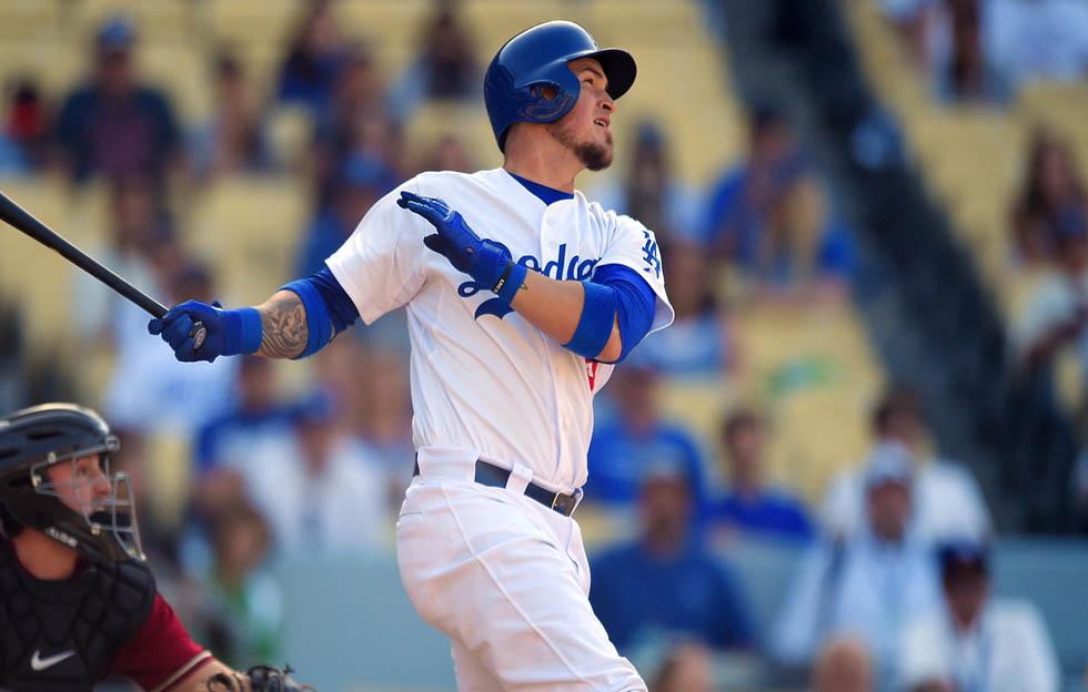 Yasmani Grandal dispara descomunal bambinazo con los Dodgers (+Video)