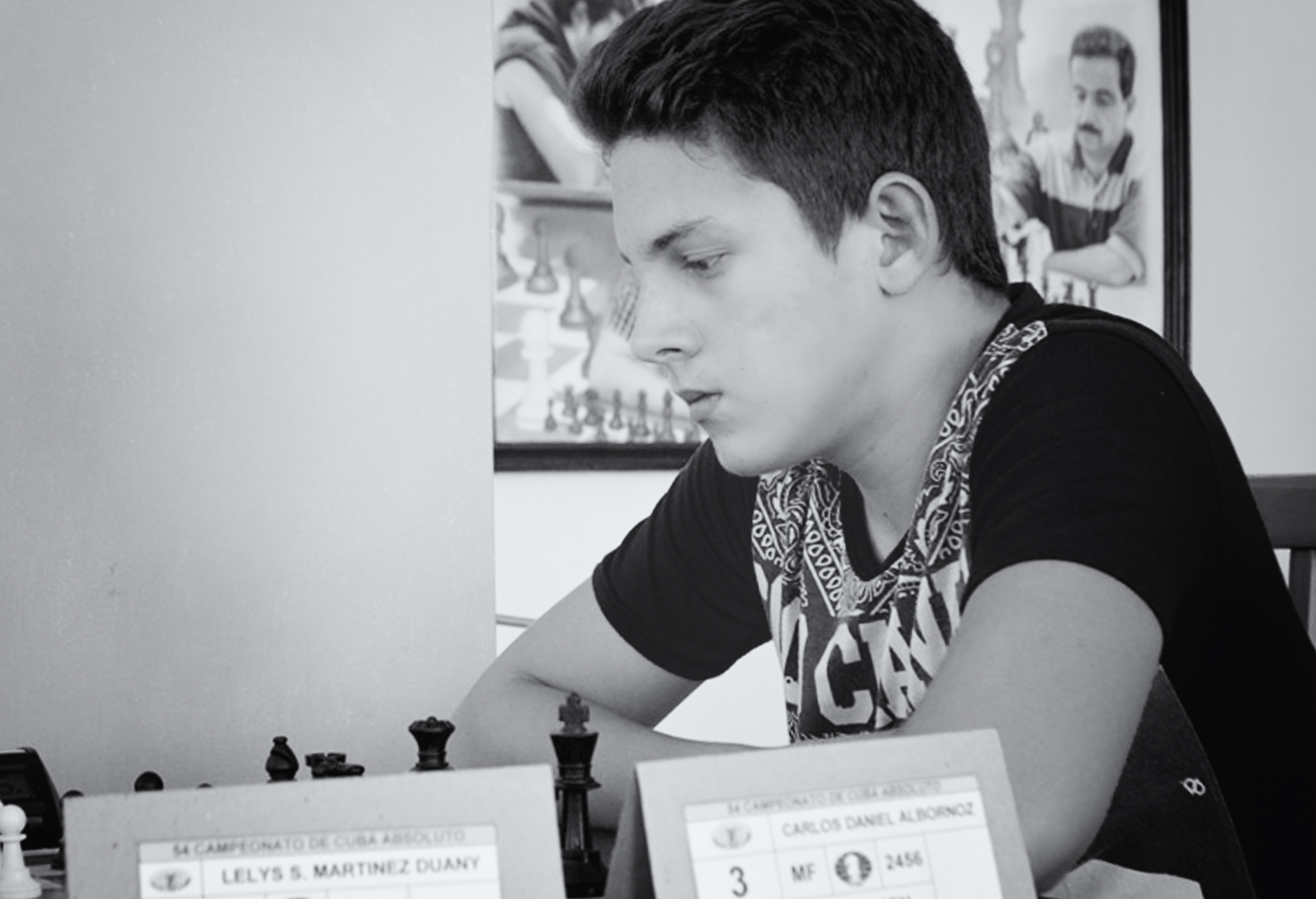 The Camagüey player Albornoz is placed 5th in Cuban chess ranking