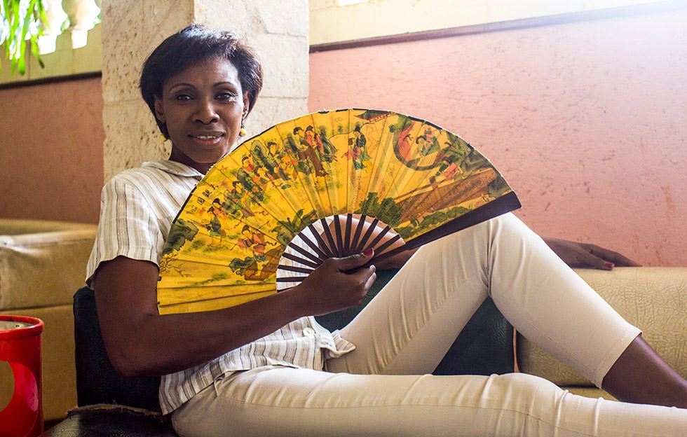 Mireya Luis… «Nacida para ser líder»