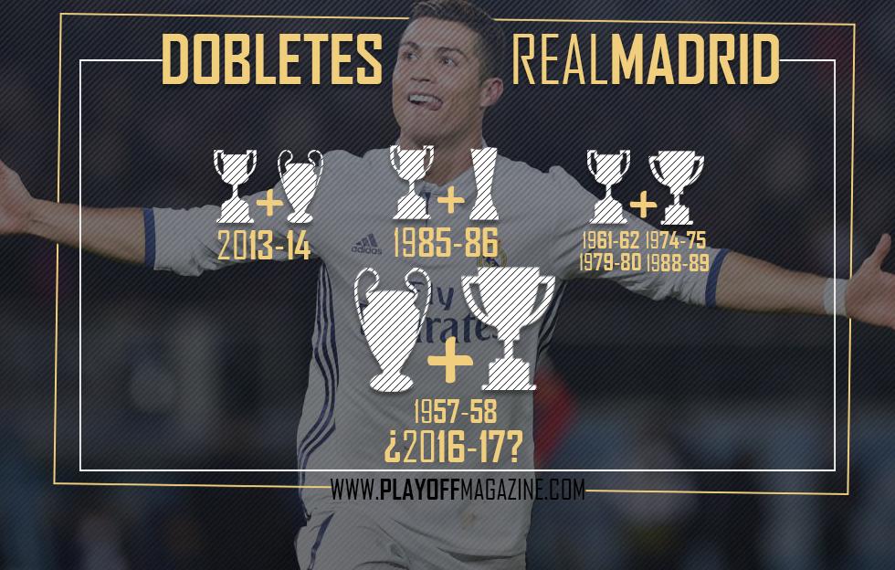El Real Madrid apunta al «Doblete» (Liga-Champions) 59 años después