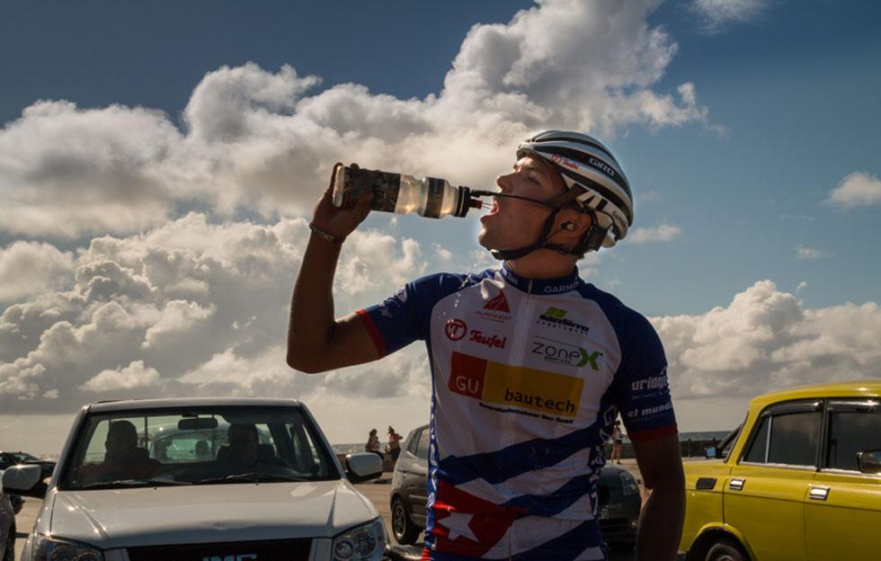 Ciclista austriaco Jacob Zurl