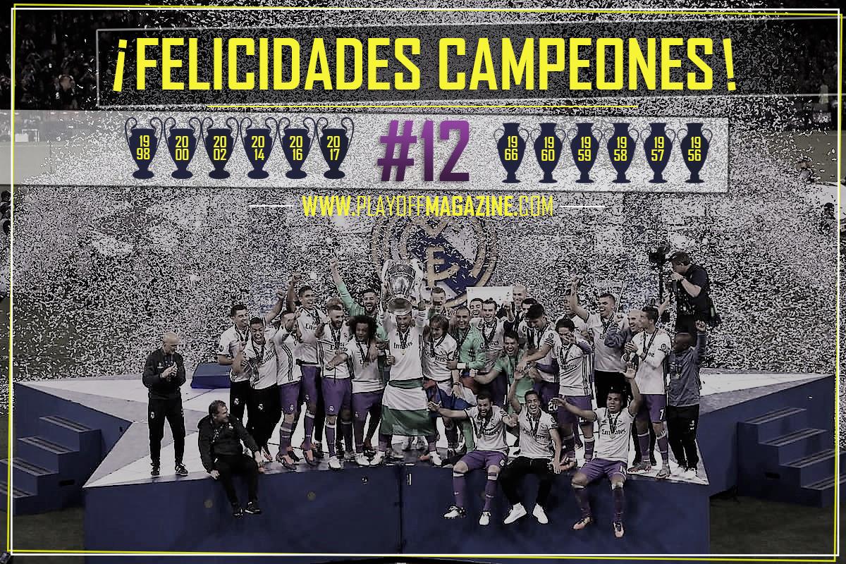 Real Madrid Campeón de la Champions