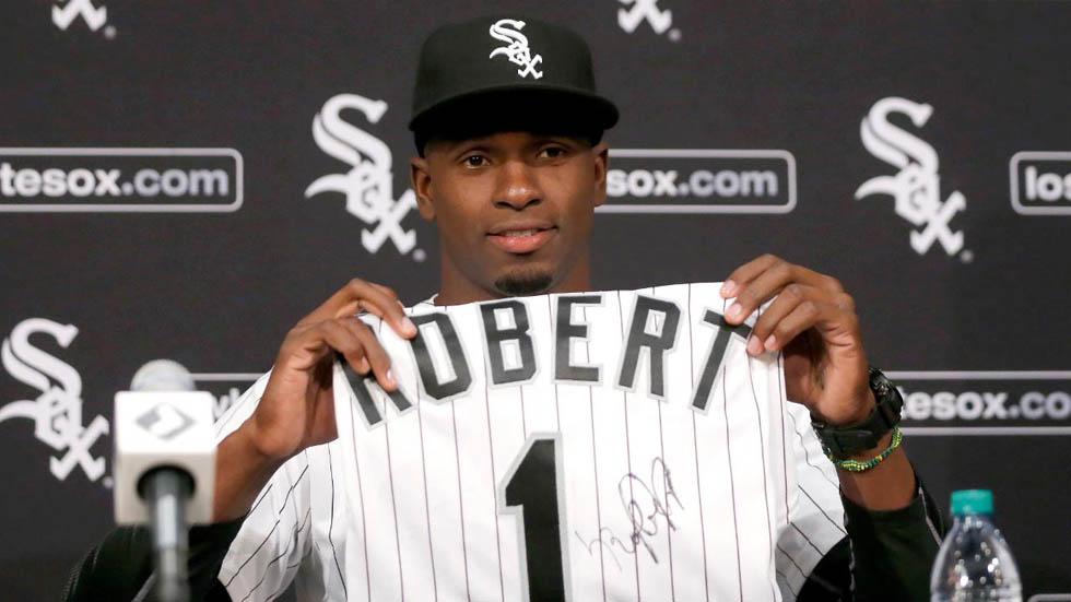 """Los 9 motivos que hacen de Luis Robert una """"sensación"""", según MLB"""