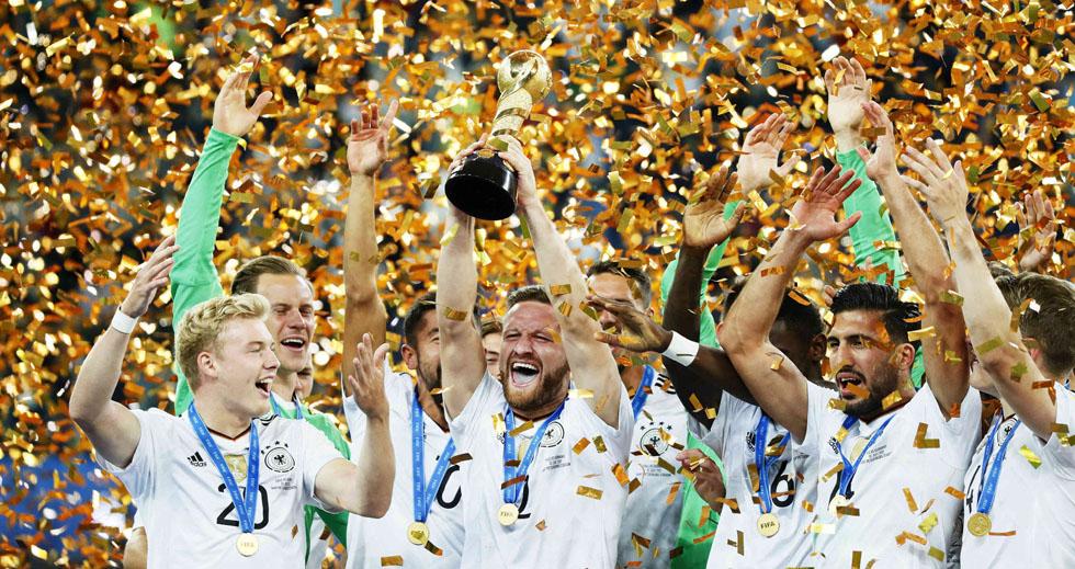 Alemania, campeón de la Copa Confederaciones