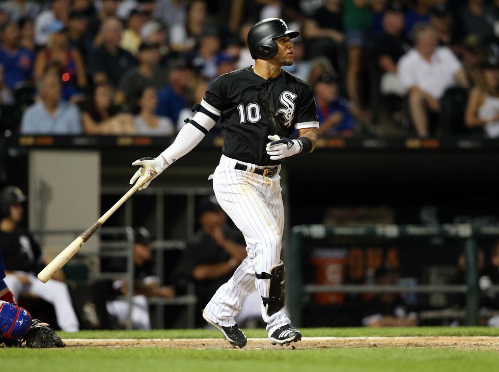 En 38 oportunidades Yoan Moncada ha abanicado 16 veces (42%), con apenas cuatro imparables (dos sencillos, un biangular y un jonrón), para un anémico average de .105 con los Medias Blancas. FOTO: MLB.com