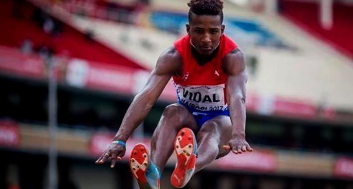 Maikel Vidal tiene su meta muy clara. Su mirada está fija en los Juegos Olímpicos de Tokio 2010. Foto: Getty Images.