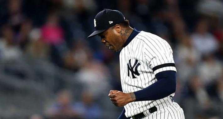 El Yuli no fue suficiente y los Yankees igualan con sello de Chapman
