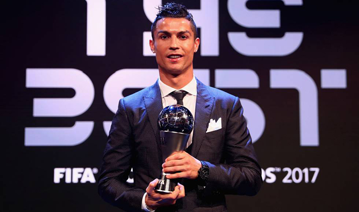 "Cristiano: ""The Best"""