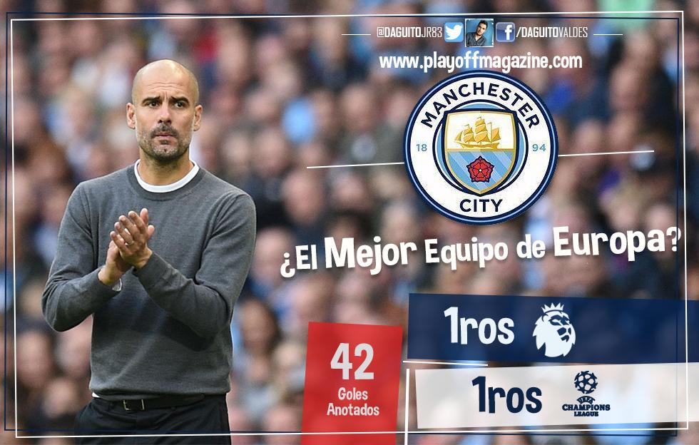 ¿Es hoy el Manchester City el mejor equipo de Europa?