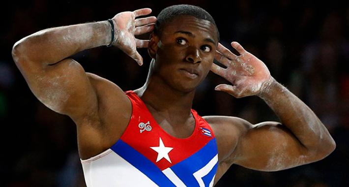 "Manrique Larduet: ""por momentos quise dejar la gimnasia"""