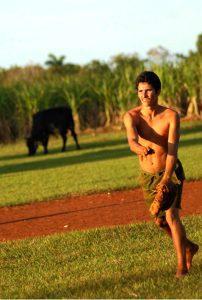 """Completar los """"pitenes"""" no siempre es cosa fácil en la pelota de manigua. Foto: Osacr Alfonso Sosa"""