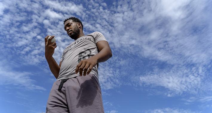 La nueva modalidad de béisbol callejero fue lanzada al mundo, oficialmente, en La Habana. Foto: Hansel Leyva.
