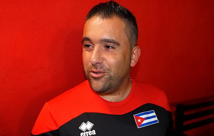 Mambrini será el encargado de dirigir el equipo de La Habana en la presente temporada del fútbol en Cuba. FOTO: Jorge Rafael Matos.