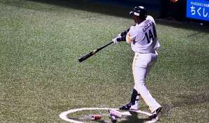 En su primer año Colas solo ha jugado en la segunda división del béisbol japonés. Foto: Cortesía del entrevistado.