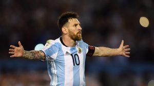 En Messi, una vez más, descanasan todos los sueños de la Albiceleste.