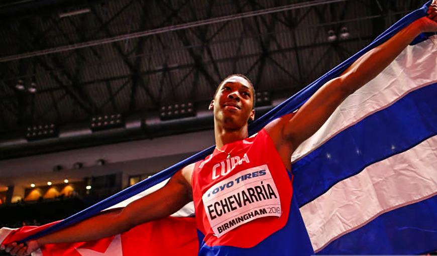 Camagüeyano Juan Miguel Echevarría abre actuación de Cuba en Mundial de Atletismo