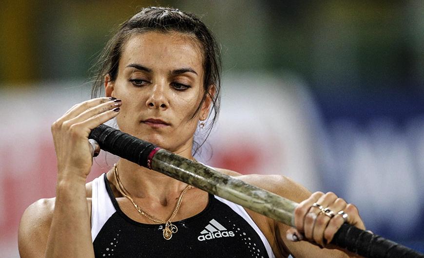 """Yelena Isinbayeva: """"con Silva sabía que no me podía relajar"""""""