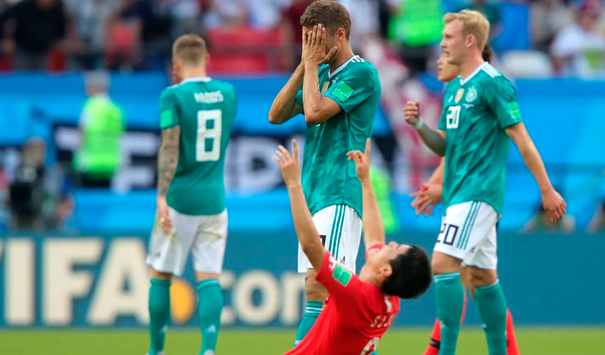 Alemania y el fiasco