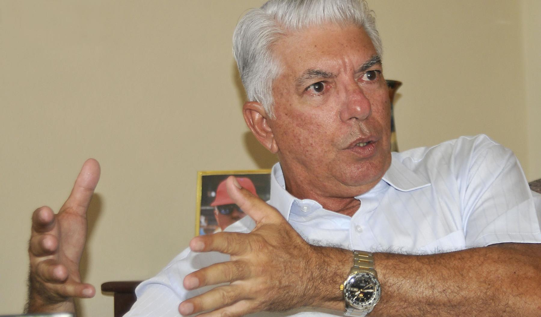 Jorge Fuentes, manager triunfador que no fue pelotero. Foto: José Raúl Rodríguez Robleda.