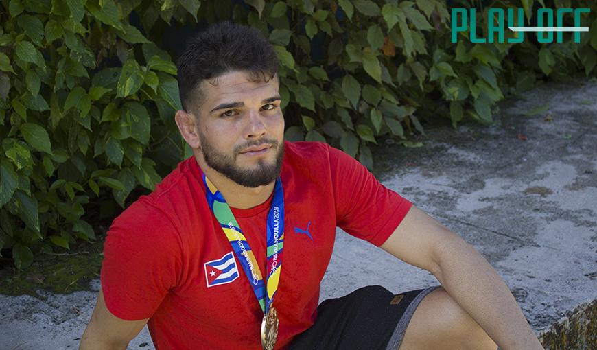 Luis Alberto, otro campeón de la lucha grecorromana