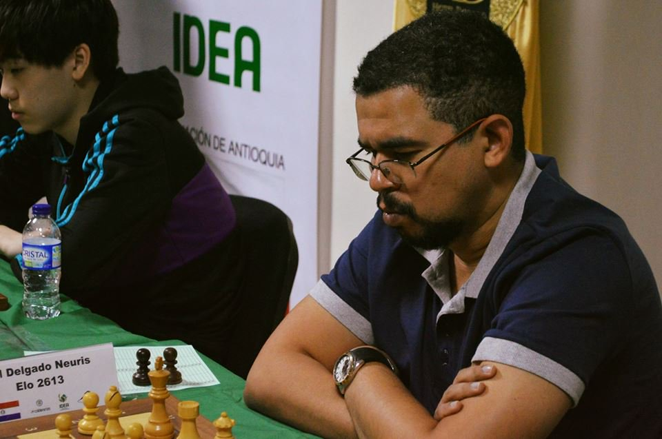 Neuris Delgado. Foto: Chess24.com.