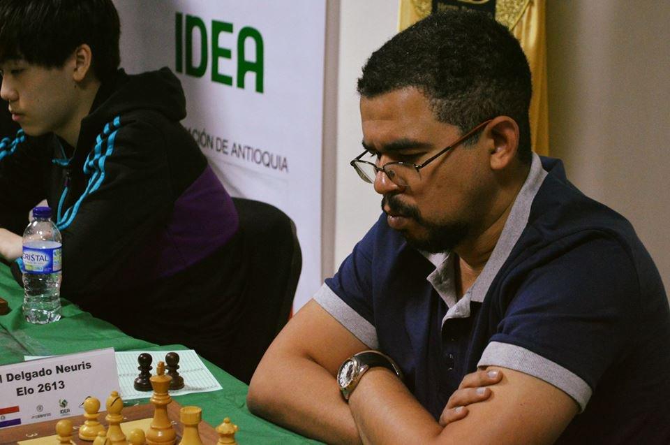 Neuris Delgado. Foto: Chess24.com.