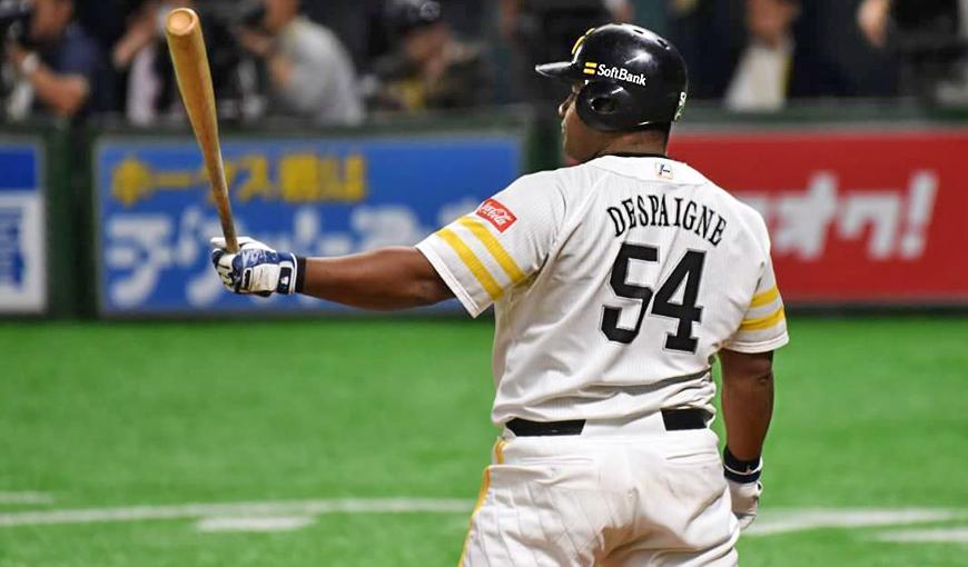 Reaparece Alfredo Despaigne en el béisbol profesional de Japón