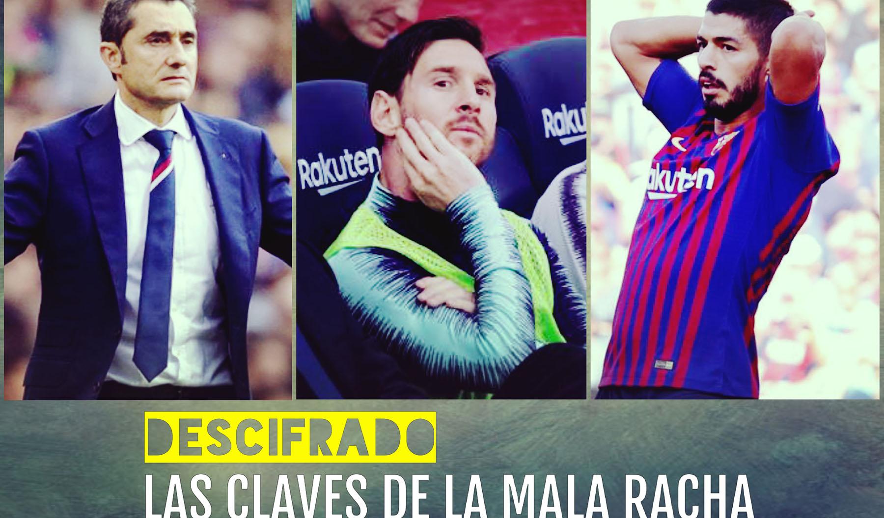 Descifrado: 3 razones de la mala racha del Barcelona