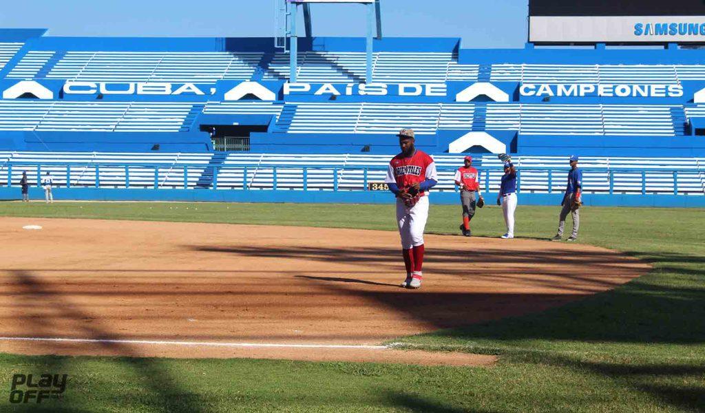 Pelotero cubano Erisbel Arruebarrena