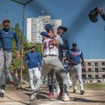 Una liga de softbol entre amigos