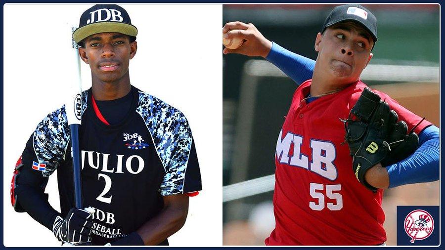 cubanos mejores prospectos de Yankees de Nueva York