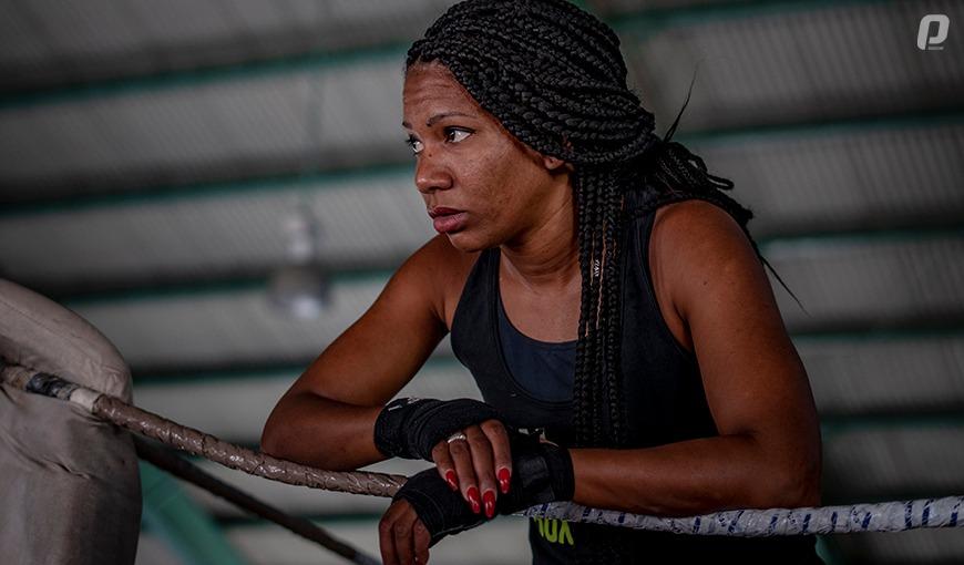 Idamelys Moreno, boxeadora cubana